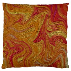 Texture Pattern Abstract Art Large Cushion Case (two Sides)