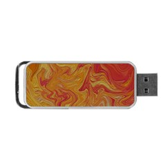 Texture Pattern Abstract Art Portable Usb Flash (two Sides)