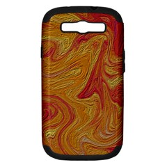 Texture Pattern Abstract Art Samsung Galaxy S Iii Hardshell Case (pc+silicone)