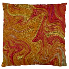Texture Pattern Abstract Art Large Flano Cushion Case (two Sides)