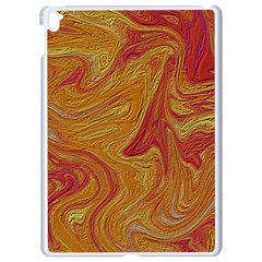 Texture Pattern Abstract Art Apple Ipad Pro 9 7   White Seamless Case