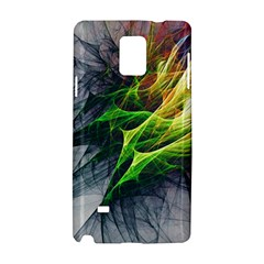 Fractal Art Paint Pattern Texture Samsung Galaxy Note 4 Hardshell Case