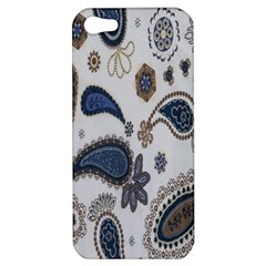 Pattern Embroidery Fabric Sew Apple Iphone 5 Hardshell Case