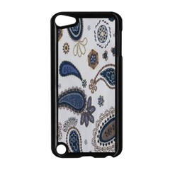 Pattern Embroidery Fabric Sew Apple Ipod Touch 5 Case (black)