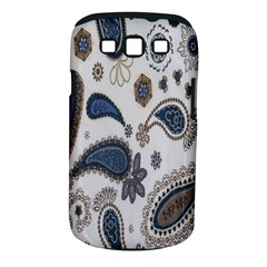 Pattern Embroidery Fabric Sew Samsung Galaxy S Iii Classic Hardshell Case (pc+silicone)