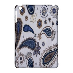 Pattern Embroidery Fabric Sew Apple Ipad Mini Hardshell Case (compatible With Smart Cover)