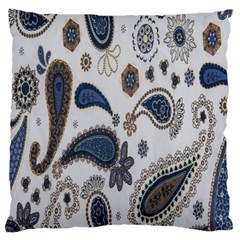 Pattern Embroidery Fabric Sew Large Flano Cushion Case (one Side)