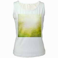 Ombre Women s White Tank Top