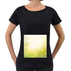 Ombre Women s Loose Fit T Shirt (black)