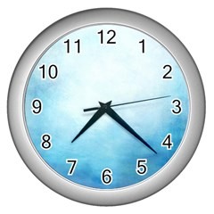 Ombre Wall Clocks (silver)