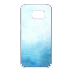 Ombre Samsung Galaxy S7 Edge White Seamless Case