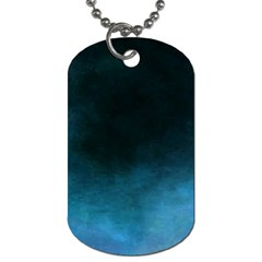 Ombre Dog Tag (two Sides)