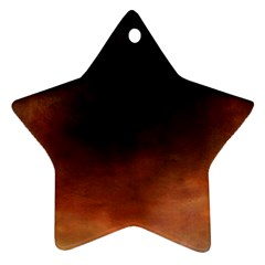 Ombre Star Ornament (two Sides)