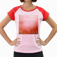 Ombre Women s Cap Sleeve T Shirt