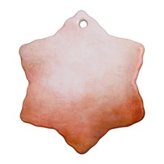 Ombre Ornament (snowflake)
