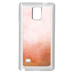 Ombre Samsung Galaxy Note 4 Case (white)