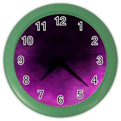 Ombre Color Wall Clocks