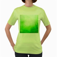 Ombre Women s Green T Shirt