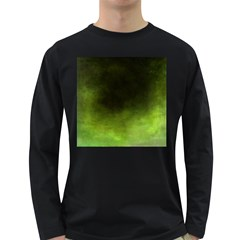 Ombre Long Sleeve Dark T Shirts