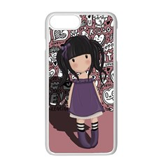 Dolly Girl In Purple Apple Iphone 8 Plus Seamless Case (white)