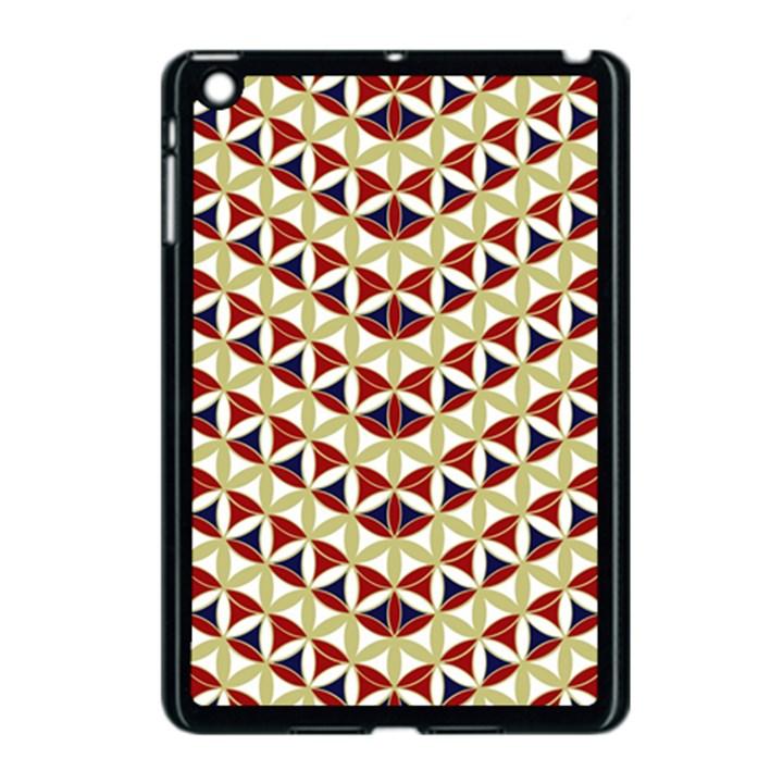 Flower of Life Pattern 4 Apple iPad Mini Case (Black)