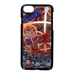 Complexity Chaos Structure Apple Iphone 8 Seamless Case (black)