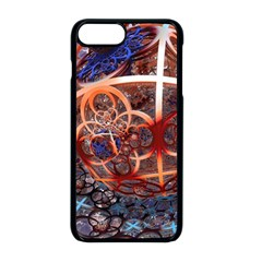 Complexity Chaos Structure Apple Iphone 8 Plus Seamless Case (black)
