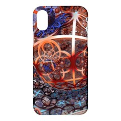 Complexity Chaos Structure Apple Iphone X Hardshell Case