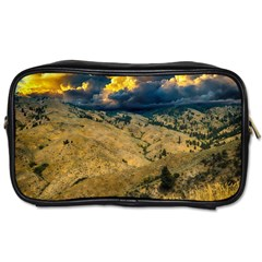 Hills Countryside Landscape Nature Toiletries Bags