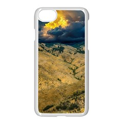 Hills Countryside Landscape Nature Apple Iphone 8 Seamless Case (white)
