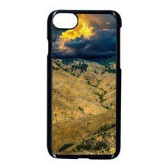 Hills Countryside Landscape Nature Apple Iphone 8 Seamless Case (black)