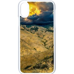 Hills Countryside Landscape Nature Apple Iphone X Seamless Case (white)