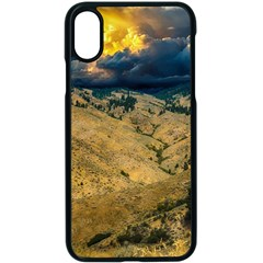 Hills Countryside Landscape Nature Apple Iphone X Seamless Case (black)