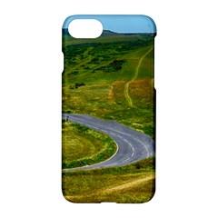 Cliff Coast Road Landscape Travel Apple Iphone 8 Hardshell Case