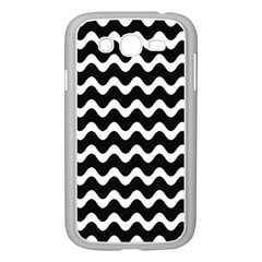 Wave Pattern Wavy Halftone Samsung Galaxy Grand Duos I9082 Case (white)