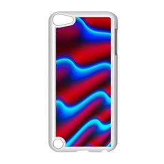 Wave Pattern Background Curve Apple Ipod Touch 5 Case (white)