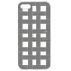 Seamless Stripe Pattern Lines Apple Iphone 5 Hardshell Case With Stand