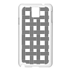 Seamless Stripe Pattern Lines Samsung Galaxy Note 3 N9005 Case (white)