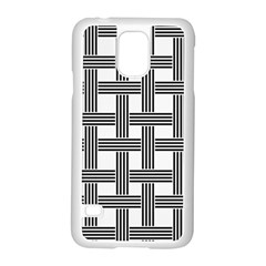 Seamless Stripe Pattern Lines Samsung Galaxy S5 Case (white)