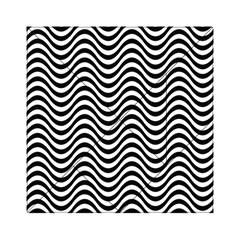 Wave Pattern Wavy Water Seamless Acrylic Tangram Puzzle (6  X 6 )