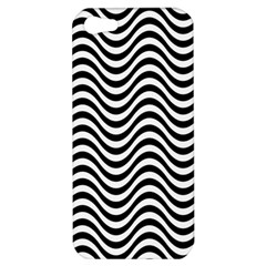 Wave Pattern Wavy Water Seamless Apple Iphone 5 Hardshell Case
