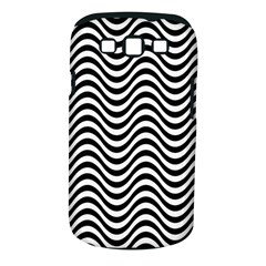 Wave Pattern Wavy Water Seamless Samsung Galaxy S Iii Classic Hardshell Case (pc+silicone)