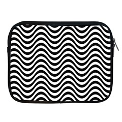 Wave Pattern Wavy Water Seamless Apple Ipad 2/3/4 Zipper Cases