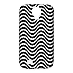 Wave Pattern Wavy Water Seamless Samsung Galaxy S4 Classic Hardshell Case (pc+silicone)
