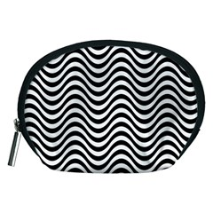 Wave Pattern Wavy Water Seamless Accessory Pouches (medium)