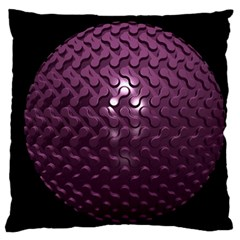 Sphere 3d Geometry Math Design Large Cushion Case (two Sides)