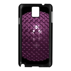Sphere 3d Geometry Math Design Samsung Galaxy Note 3 N9005 Case (black)