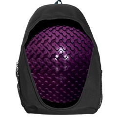 Sphere 3d Geometry Math Design Backpack Bag