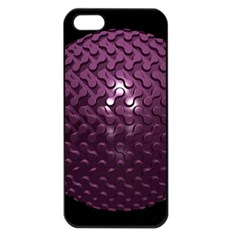 Sphere 3d Geometry Math Design Apple Iphone 5 Seamless Case (black)