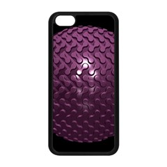 Sphere 3d Geometry Math Design Apple Iphone 5c Seamless Case (black)